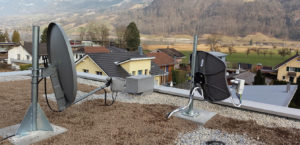 Internet via Satellit und Satelliten TV